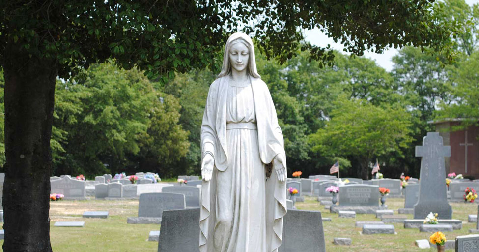 St. Marys Cemetery, Norfolk VA - Sculpture